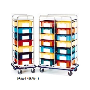 HOSPITAL CARTS WITH DRAWERS